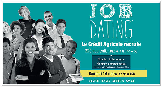 cr u00e9dit agricole organise un job dating sp u00e9cial alternant le 14 mars 2015