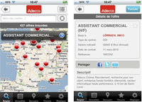 Adecco France lance son application iPhone